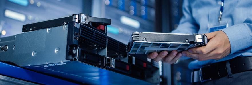 Réparer un disque dur